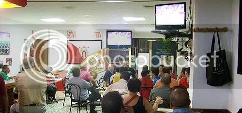 Peña Sevillista '@ 1000 km de Nervión' en Esplugues de Llobregat