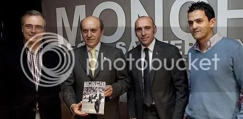 José Mª Aguilar, Del Nido, Monchi y Roberto Arrocha