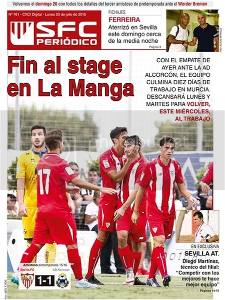 2015-07 (20) SFC Periódico Fin al stage en La Manga