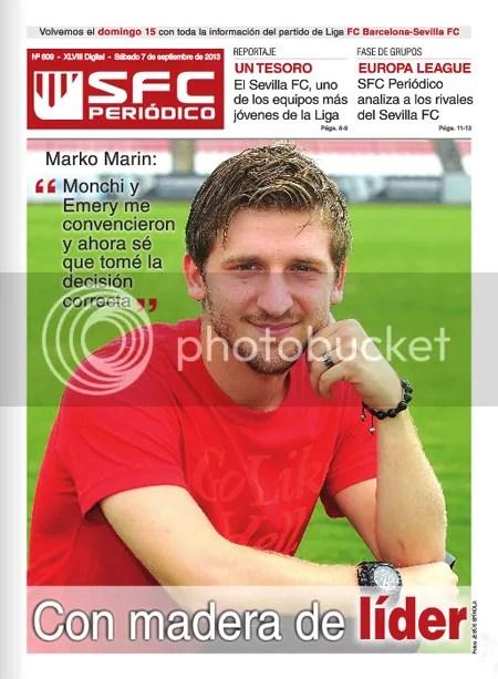 SFC Periódico 07.09.13 Marko Marin