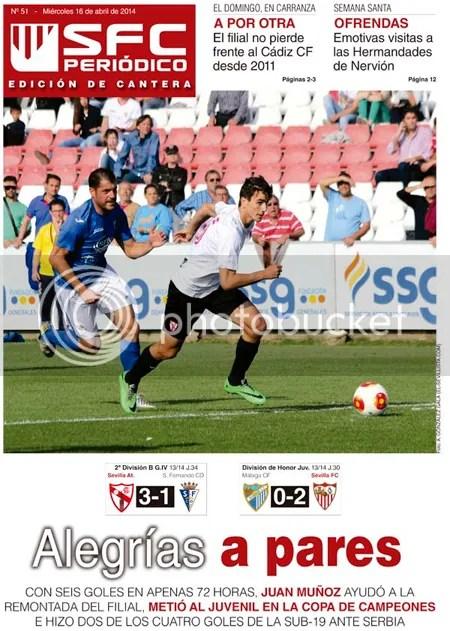 2014-04 (16) SFC Periódico Ed.Cantera Sevilla Atlético 3 San Fernando 1