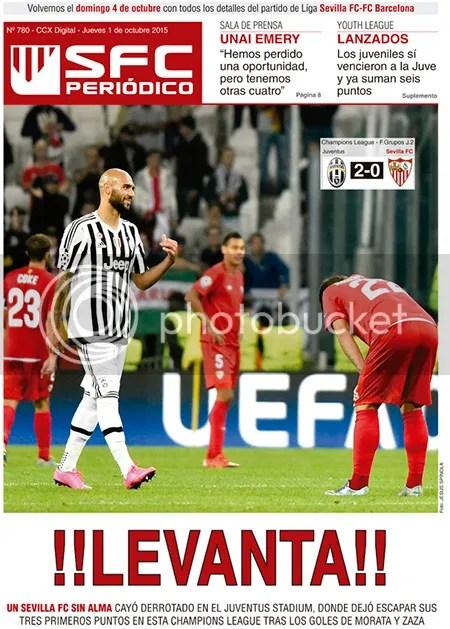 2015-10 (01) SFC Periódico Juventus 2 Sevilla 0