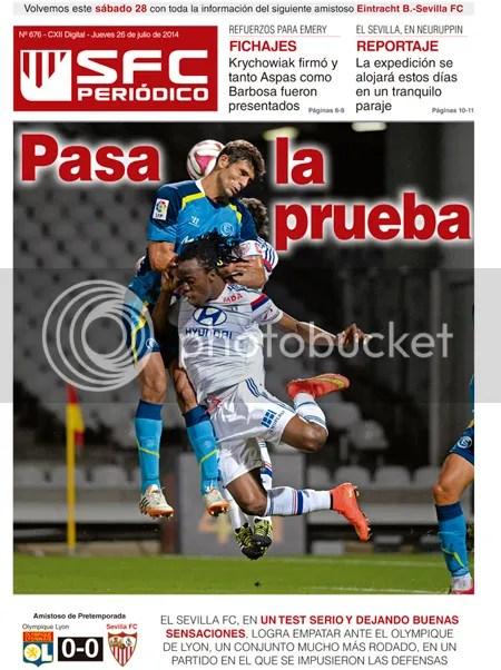 2014-07 (24) SFC Periódico Lyon 0 Sevilla 0