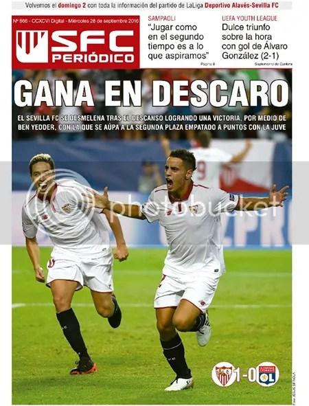 2016-09 (28) SFC Periódico Sevilla 1 Lyon 0