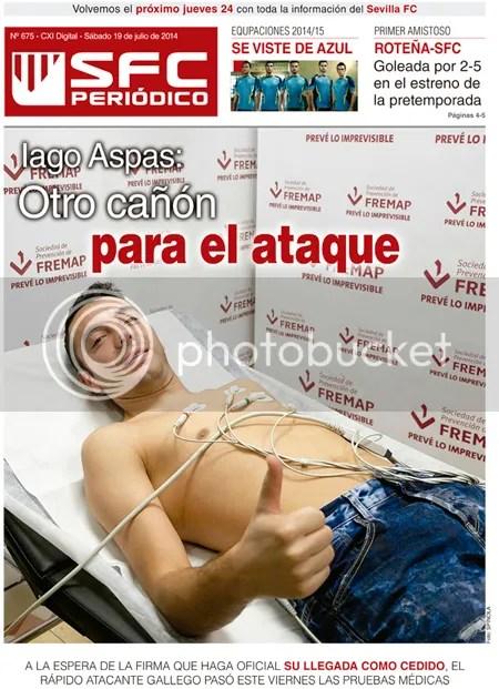2014-07 (19) SFC Periódico Iago Aspas Otro cañón para el ataque