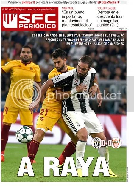 2016-09 (15) SFC Periódico Juve 0 Sevilla 0
