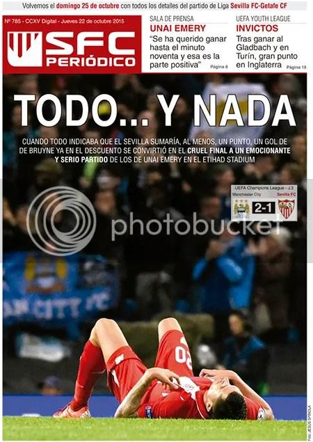 2015-10 (22) SFC Periódico Manchester City 2 Sevilla 1