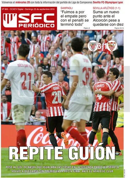 2016-09 (25) SFC Periódico Athletic 3 Sevilla 1