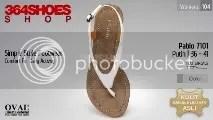 Sandal Wanita PABLO 7101 Putih