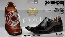 Sepatu Pria OVAL 4404