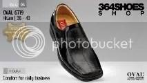 Sepatu Pria OVAL 6719