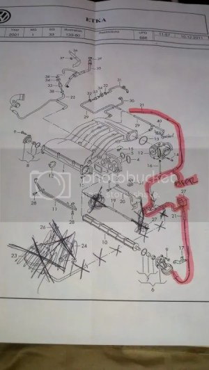 Fourtitude  Vacuum Diagram for 12v VR6 DIY