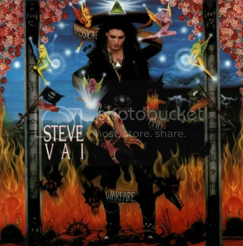 Steve Vai Passion and Warwave logo album