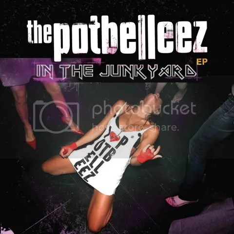 The Potbelleez - In The Junkyard EP