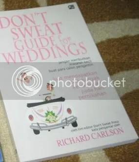 Don't Sweat Guide to Weddings,Richard Karlson,kisahbuku.wordpress.com