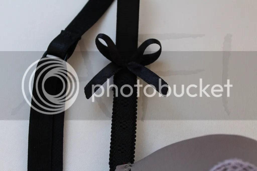 bra strap bow