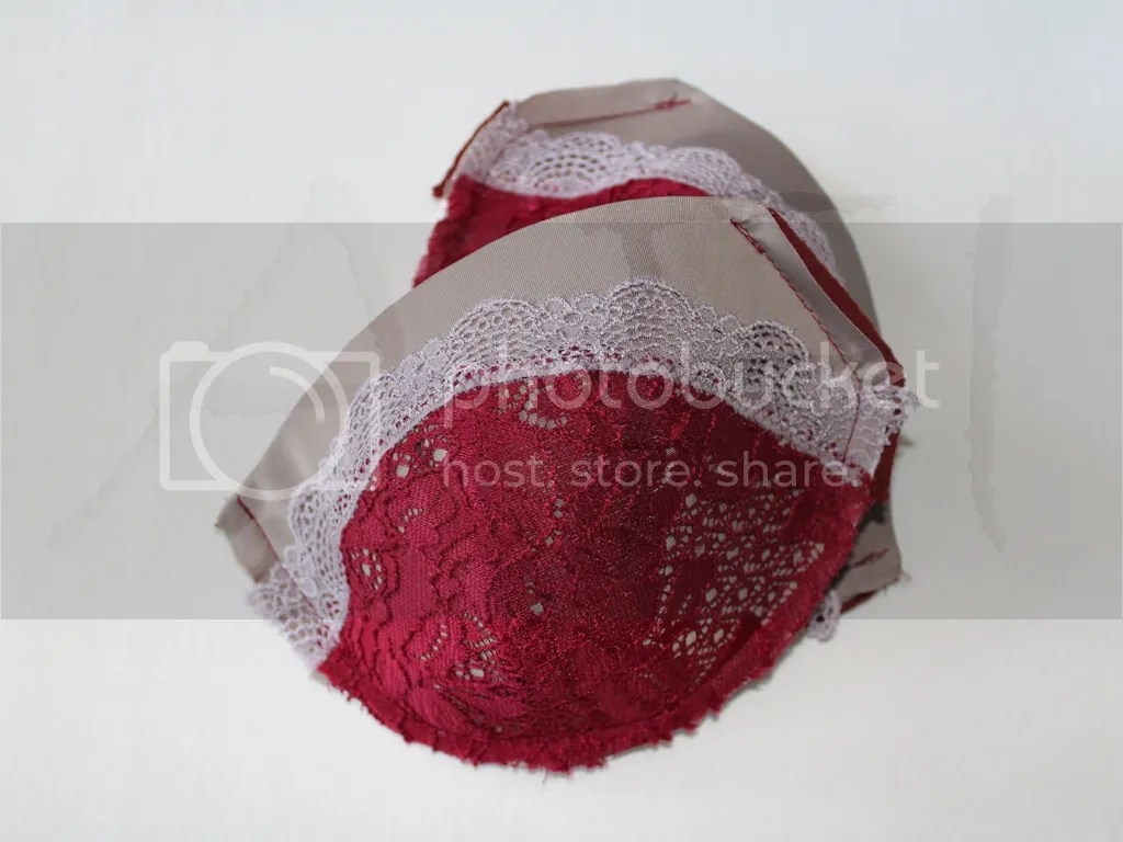 sewing bra cups