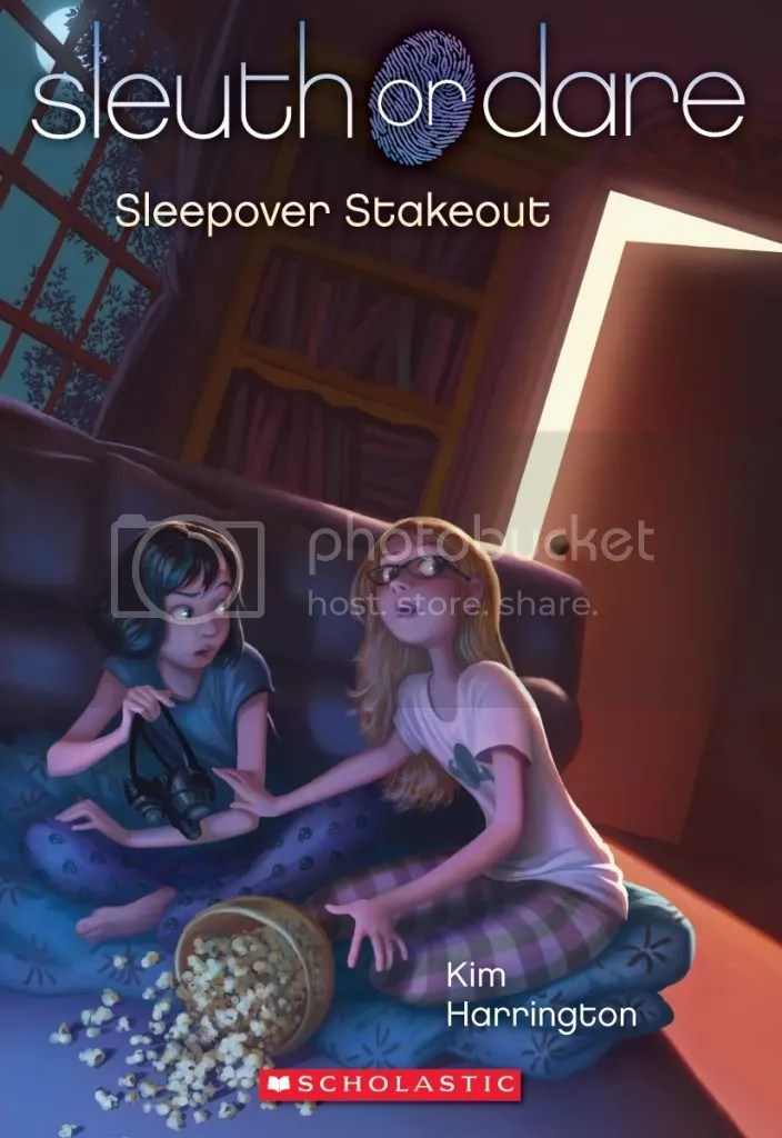 Sleepover Stakeout (Sleuth or Dare #2) by Kim Harrington