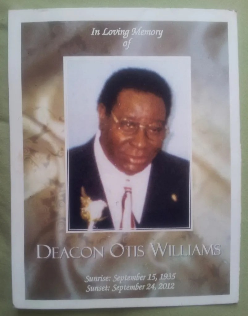 Deacon Otis Williams