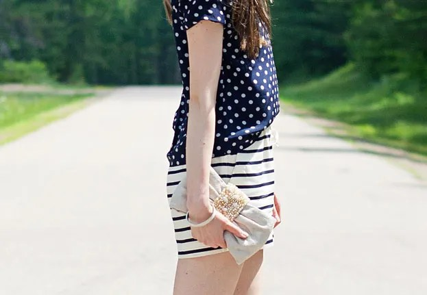 Laura Wears | Dots and Stripes