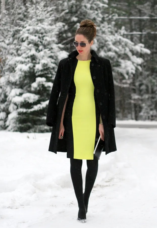 french connection reign color block dress