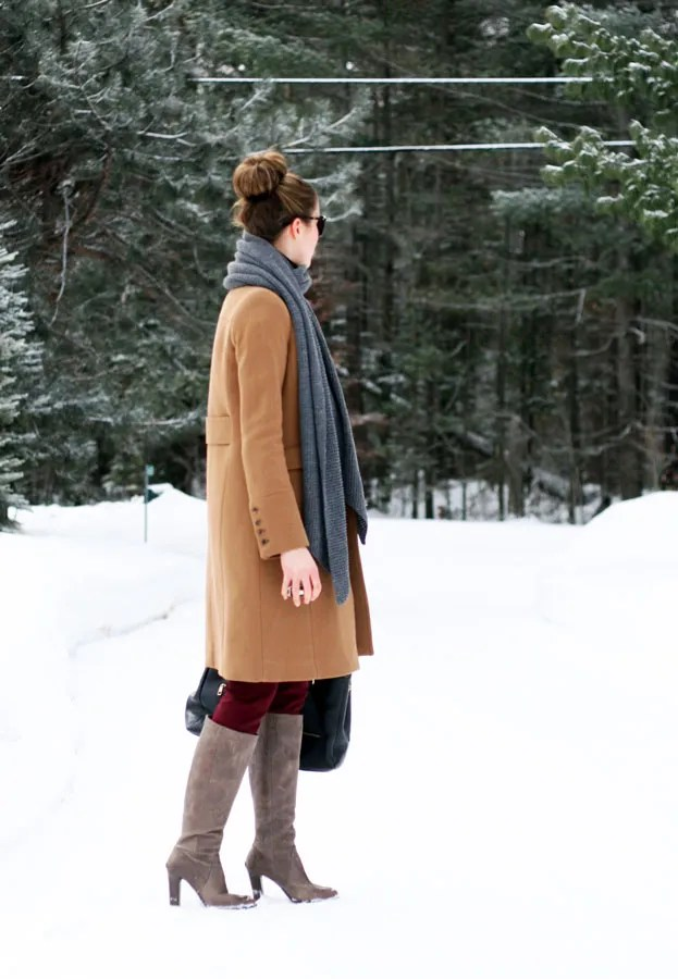 j.crew metro coat full length minnie