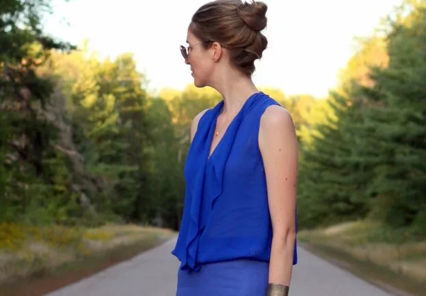 aritzia silk blouse finley ainsley