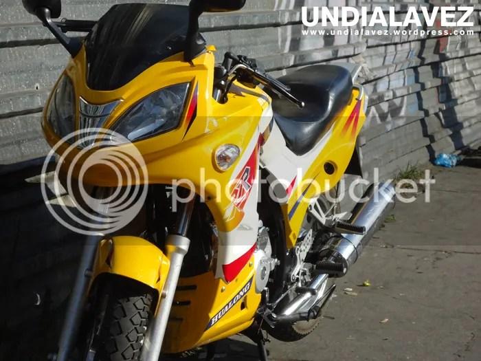 Moto en Caracas