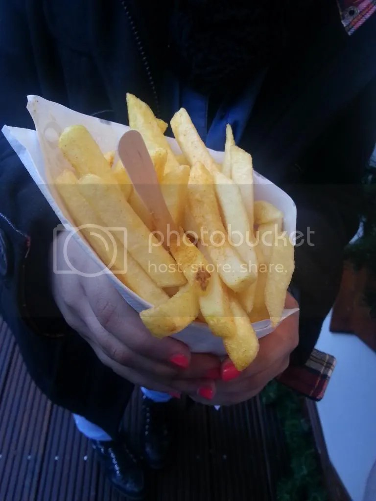 french fries in hydpark