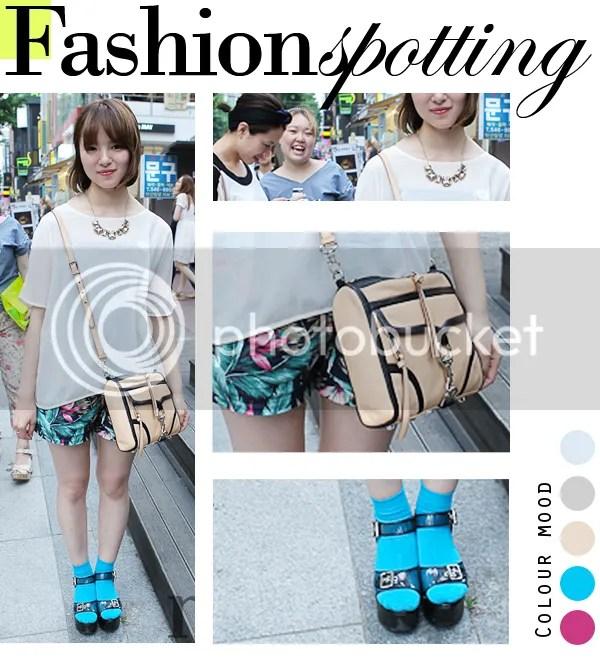 Fashion Spotting in Garosugil, Seoul, Korea