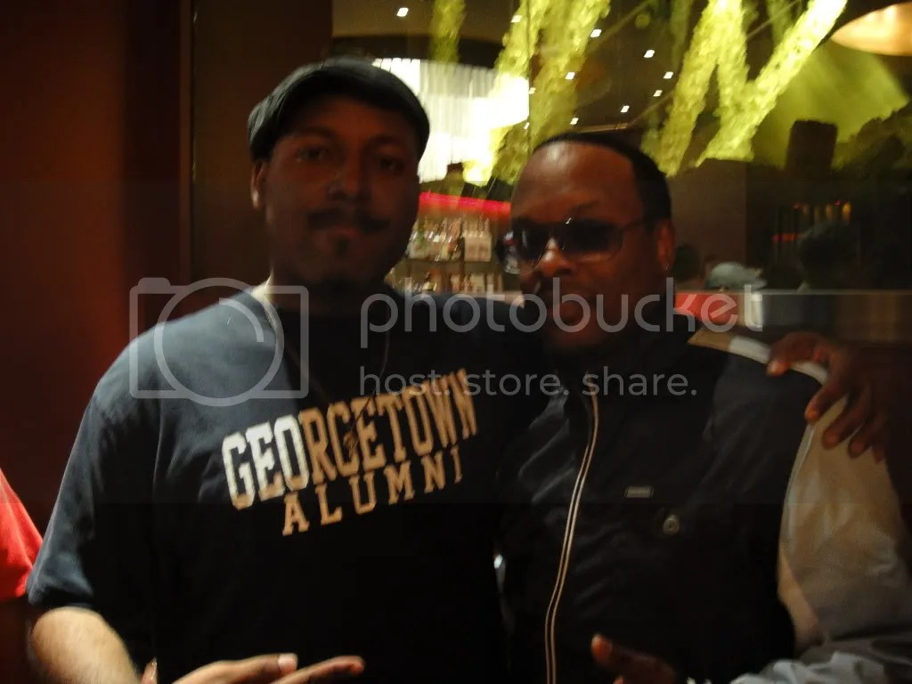 Myself and DJ Jazzy Jeff, the legend