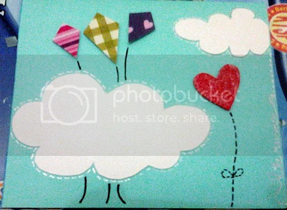 playing kites... :D