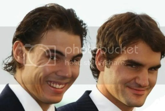 SEXY COUPLE: RAFA AND ROGER Pictures, Images and Photos