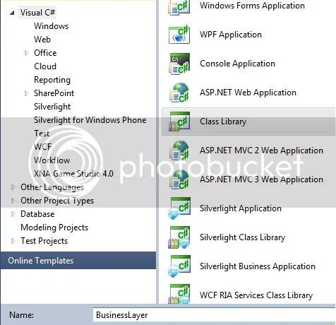 Enlace a datos GridView Code-Behind C# 3 Capas ASP.NET 2-n (2/3)