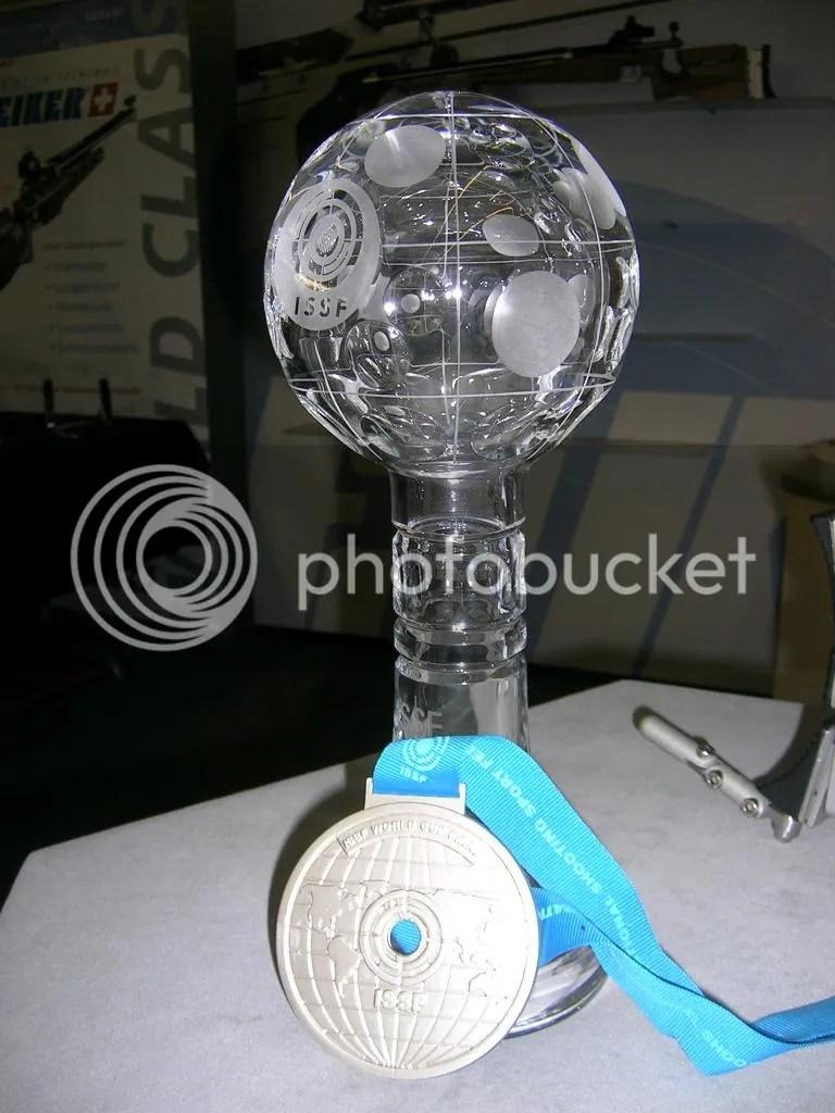 Medalla ISSF
