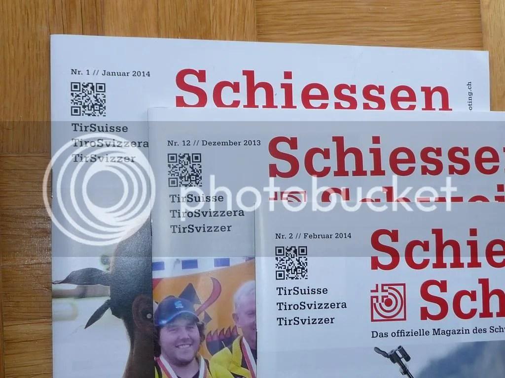 Revista Federación Suiza de Tiro