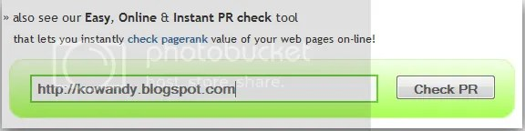 pagerank blog