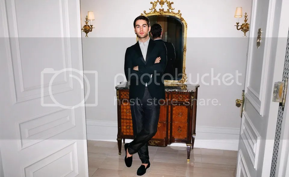 Eye Candy: Chace Crawford for Mr. Porter