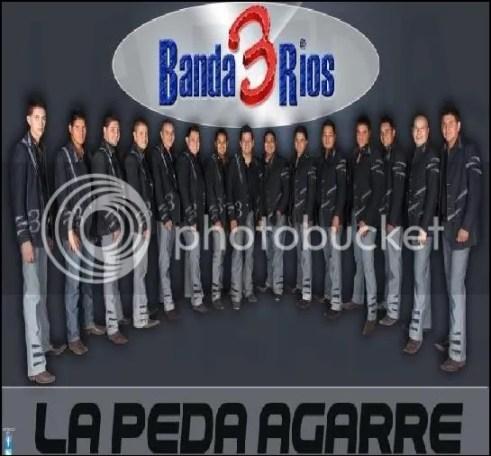 Banda 3 Rios - La Peda Agarre (CD 2012)