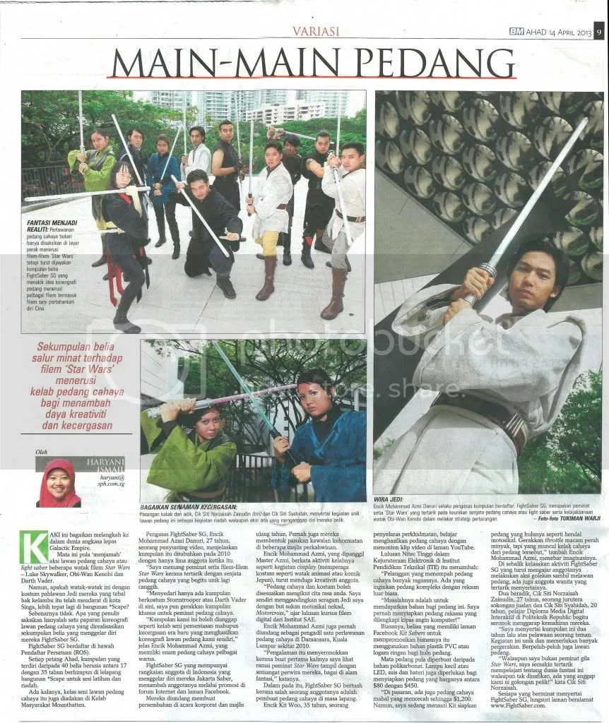 FightSaber on Berita Minggu (14th April 2013) photo newspaper2_zps484e700e.jpg