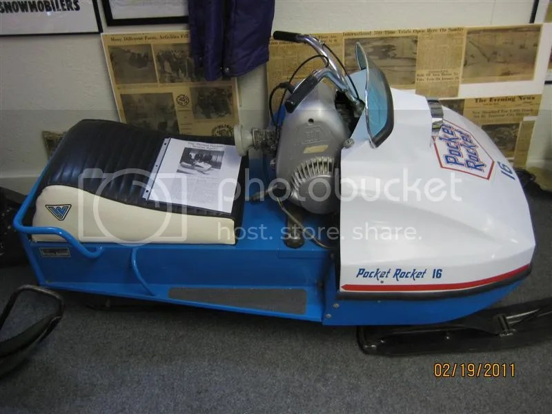 Vintage Polaris Snowmobile Sleds