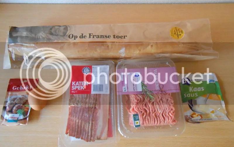 Recept; gevuld stokbrood