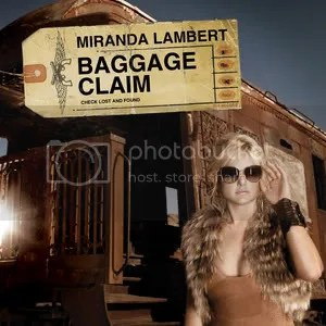 Baggage Claim - Single Cover - Miranda Lambert