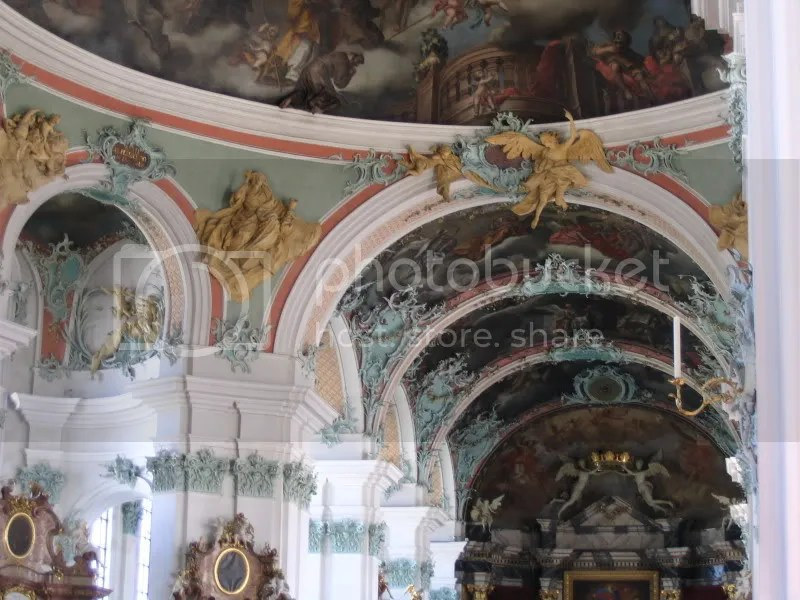 St Gallen Cathedral ceiling
