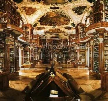 St Gallen Abby Library