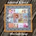 schniztel & boo Mini Quilt Swap, round 1