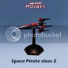 War rocket space pirate class 2