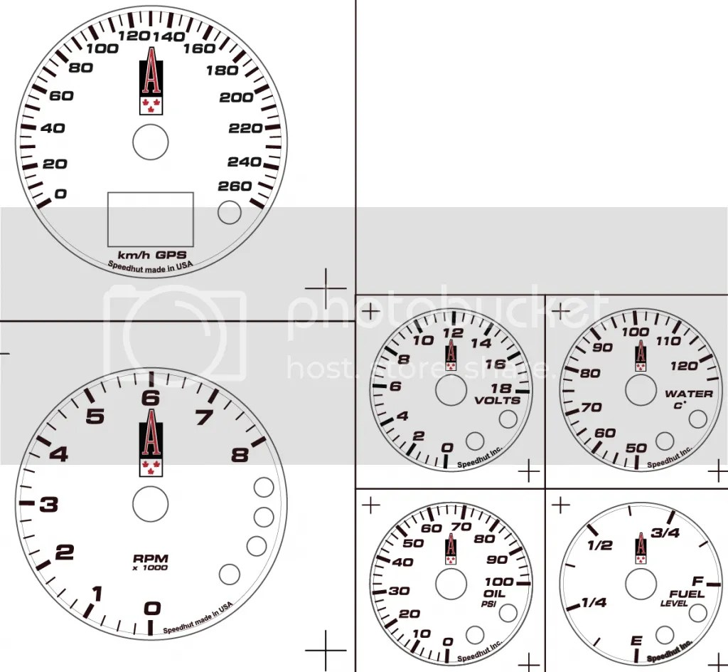 Speedhut Gauges