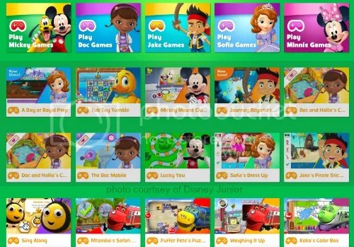 Disney Junior Games for Kids including Mickey Mouse and Doc McStuffins