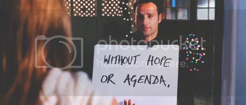 without hope or agenda
